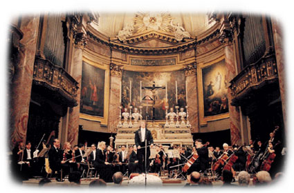Conducting in Italy